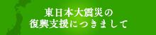 東日本大震災の復興支援につきまして