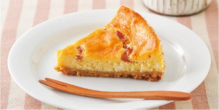 梅風味ベイクドチーズケーキ