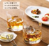 レモン梅酒オン・ザ・ロック